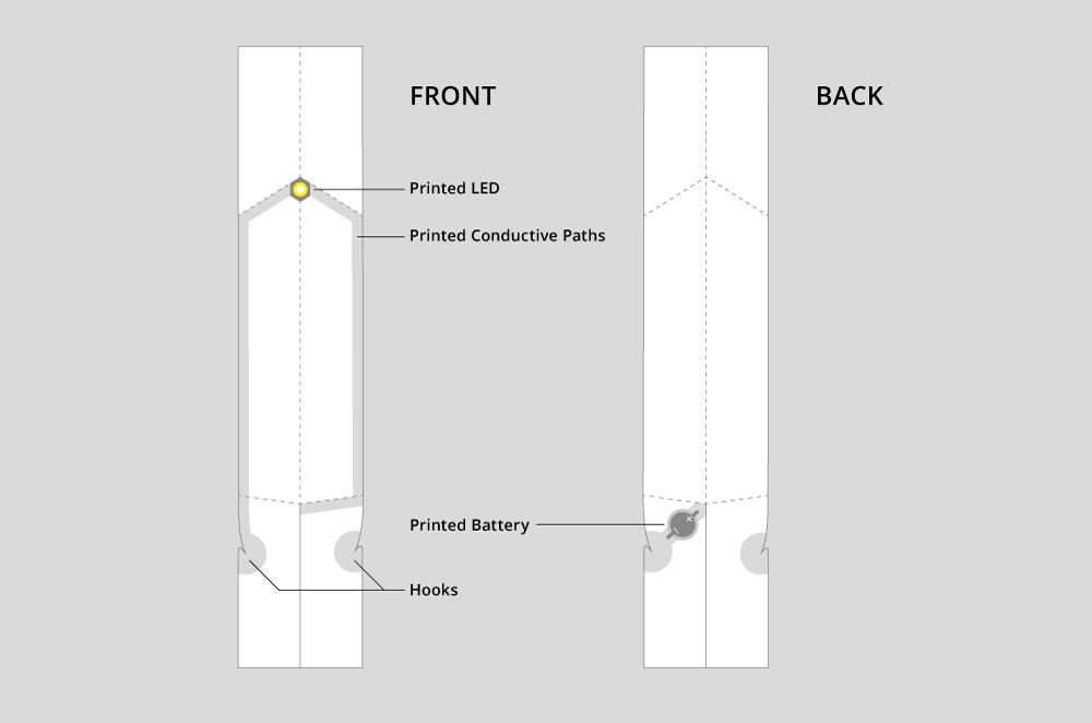 RISE – Foldable Polytronic LED Light