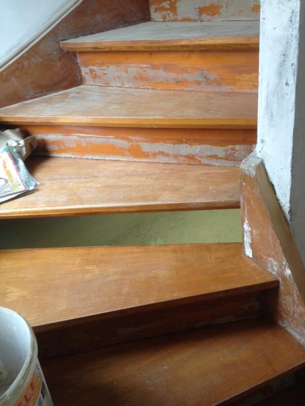 Treppe Mit Setzstufen 50 jahre alte treppe restaurieren woodworker